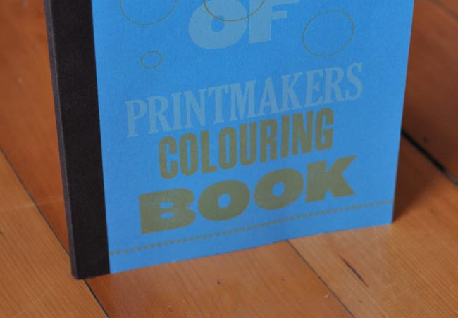Printmakers Colouring Book
