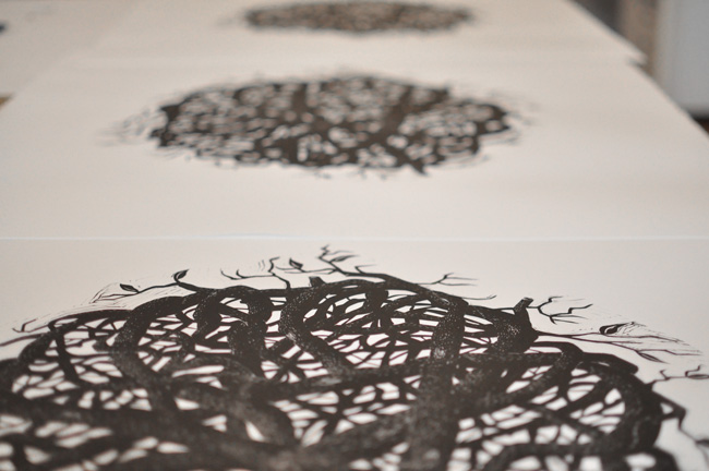 Branches Printed